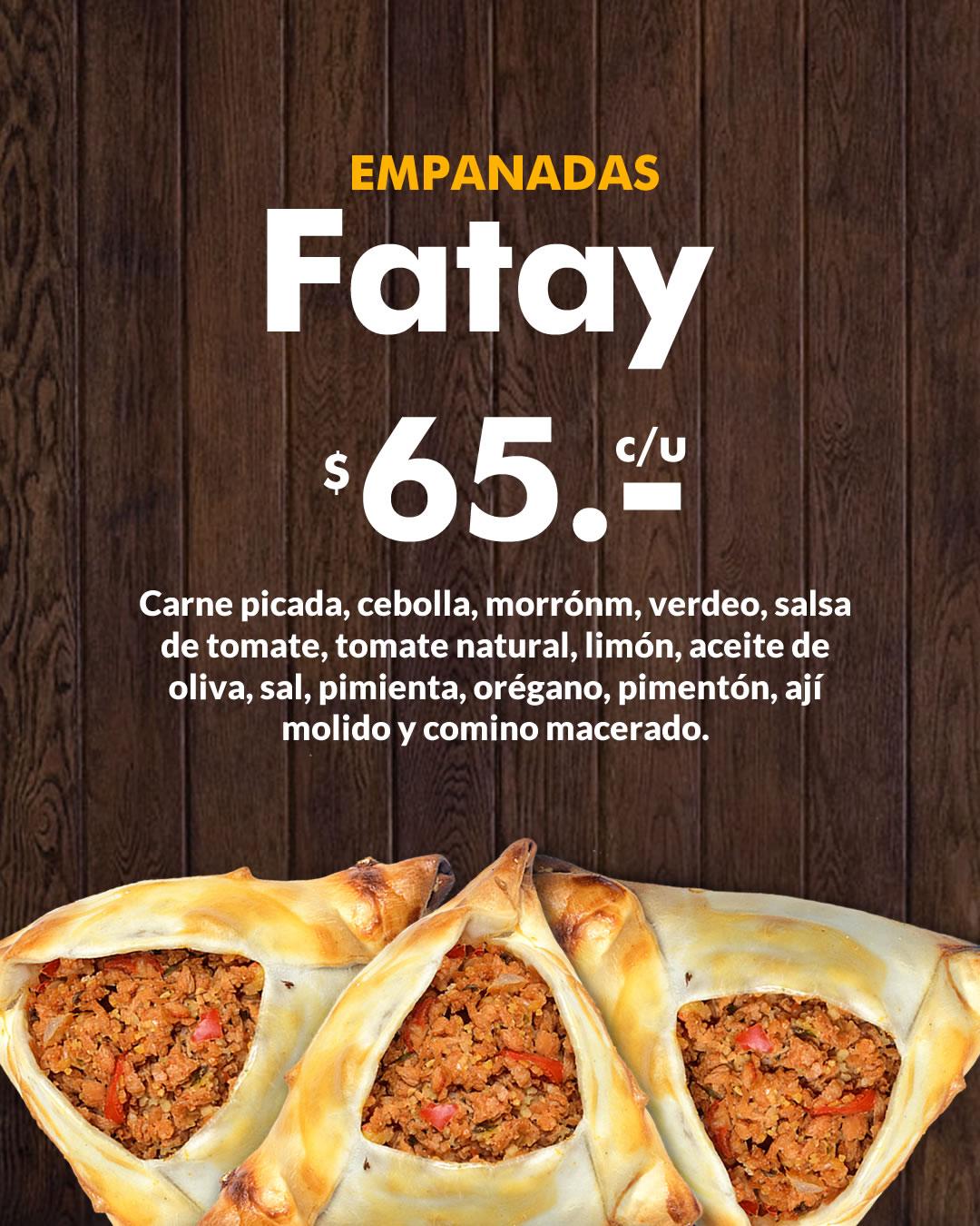 empanadas fatay